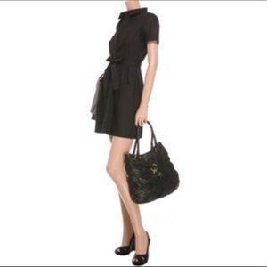 Theory Amorie Black Dress No Belt 0